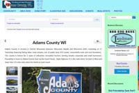 Adams-WI.com Website Features