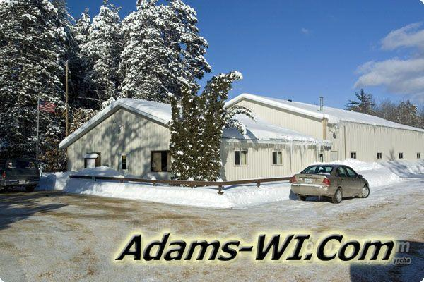Photo of Adams Townships Town hall in Adams County, WI.