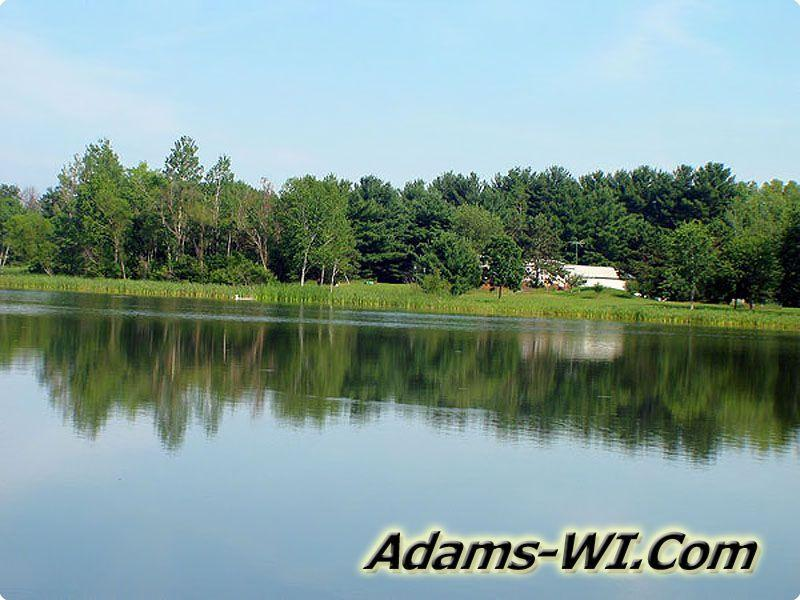 Dells Prairie Township, Adams County, Wisconsin - Fawn Lake.