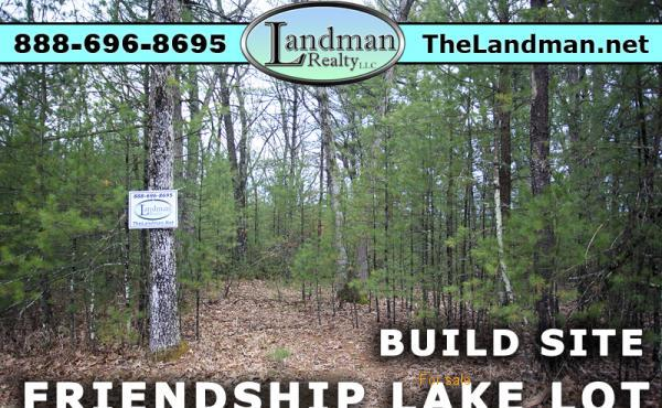 Friendship Lake Lot for Sale Adams County Wisconsin