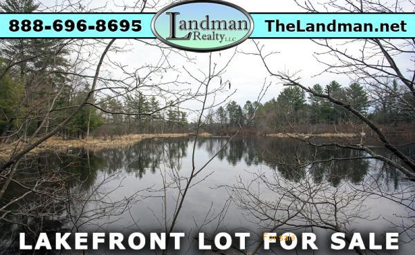Friendship Lake Waterfront lot for Sale Adams County Wisconsin